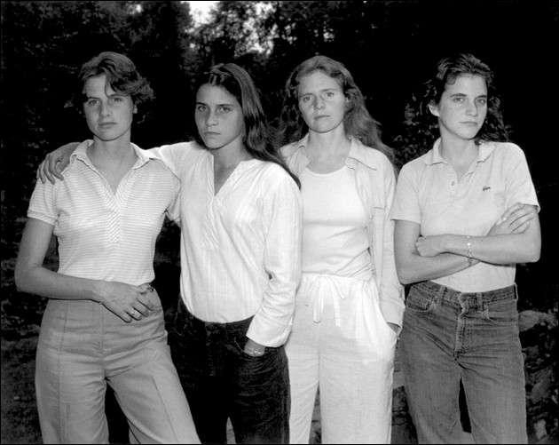 The four sisters Brown - 1975