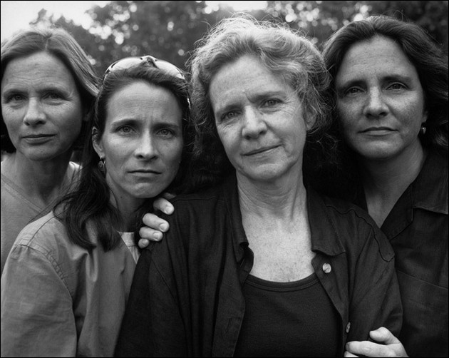 the four sisters Brown - 1982