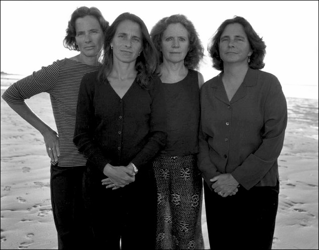 the four sisters Brown - 2001