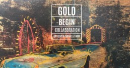 Christian GOLD 6 Benjamin BEGIN Exhibition Flyer