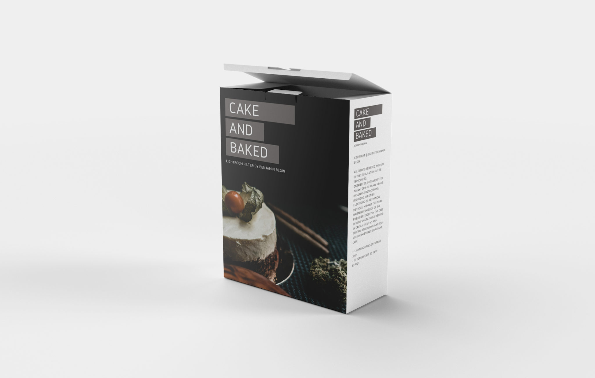 Cake & Baked Plugin Packaging